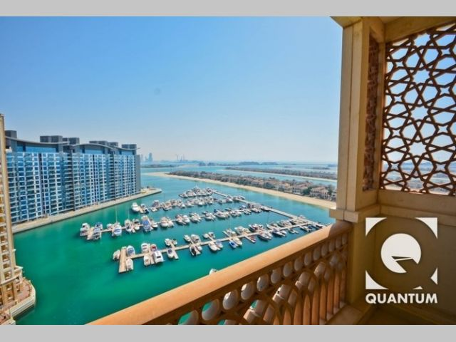 Apartment for rent in Marina Residences Palm Jumeirah