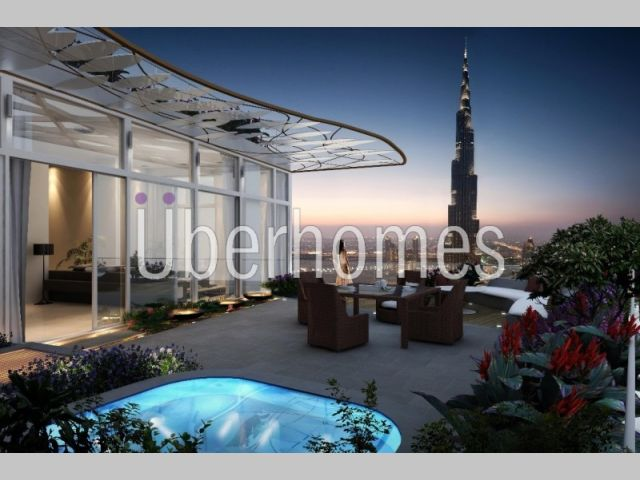 2BR Sky View T1 Apartment - Burj View!!!