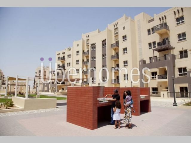 1BR Close Kitchen W/ Terrace In Al Thamam